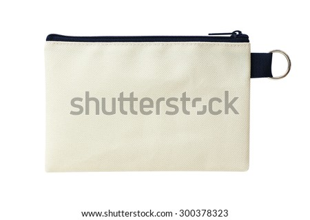 bag isolated on white background Foto stock ©