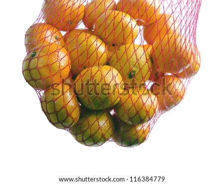 Bag of citrus