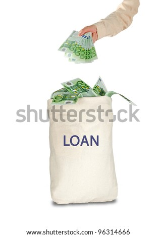 Bag with loan