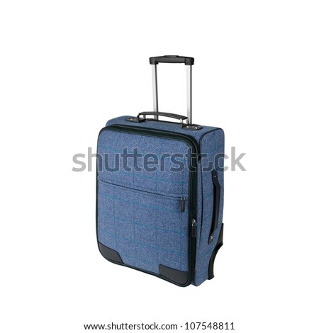 Bagage bag isolated on white background