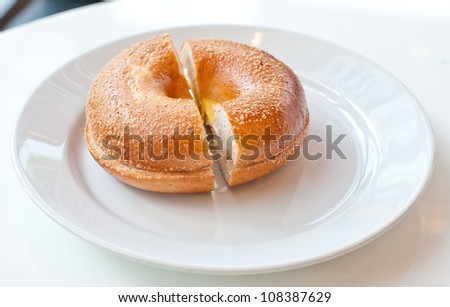 Bagel Egg Sandwich