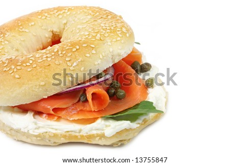 cheese bagel with smoked toasted montreal bagel bx0710h smoked salmon ...