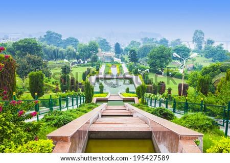 Bagh-e-Bahu garden near Bahu Fort, Jammu, India