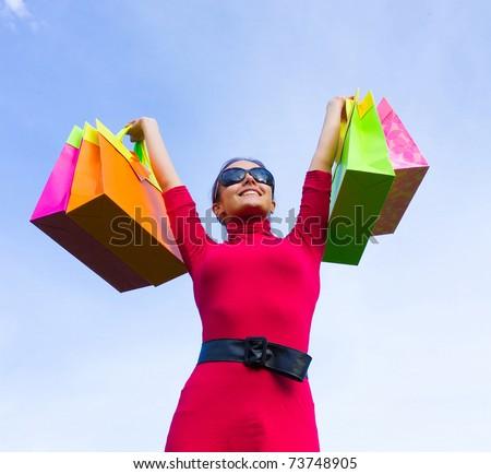Bags Shopping Woman
