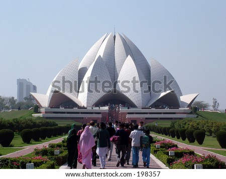 Bahai Temple New Delhi India