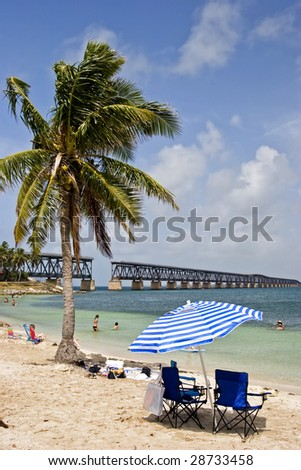 Bahia honda beach in florida