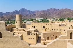 Bahla Fort in Ad Dakhiliya, Oman.