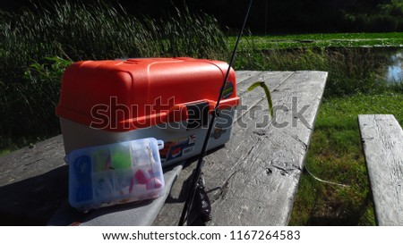 Bait and tackle box  #1167264583