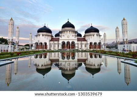 Baiturrahman Grand Mosque, Banda Aceh, Indonesia Foto stock ©