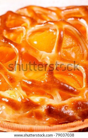 baked apricot pie #79037038