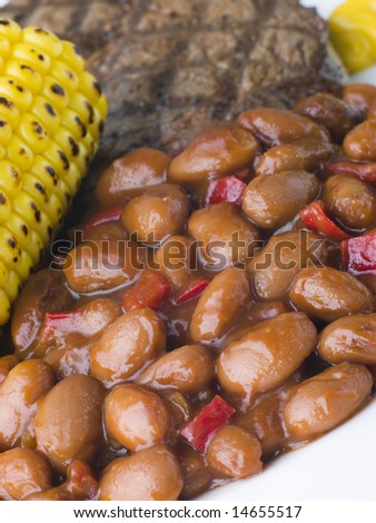 Baked Beans in a Spicy Barbeque Sauce