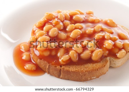 Baked Beans Toast