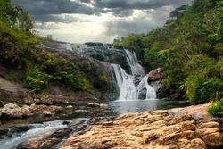 bakers falls in nuweraeliya srilanka