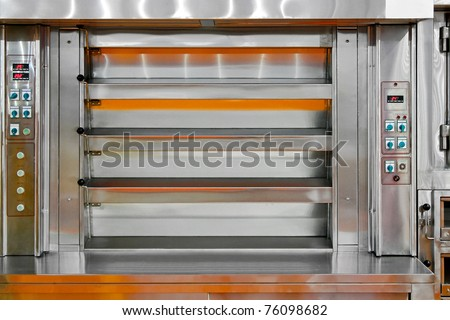 Bakery baking machine oven with four levels