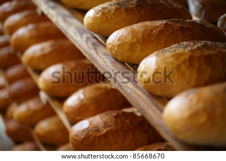 Bakery, bread.