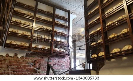 bakery cafe interior  #1340005733