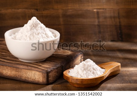 Baking soda, Sodium bicarbonate - Top view #1351542002