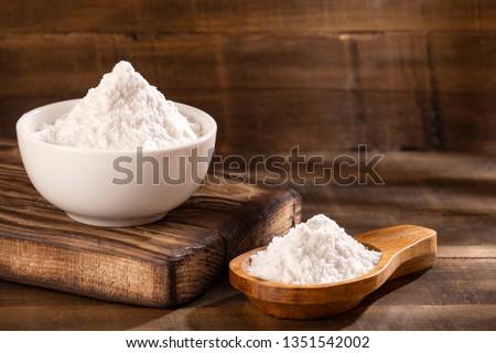 Baking soda, Sodium bicarbonate - Top view #1351542002