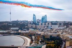 Baku Victory Parade airshow Azerbaijan