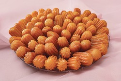 Balah El Sham Ramadan Arabic Sweets isolated