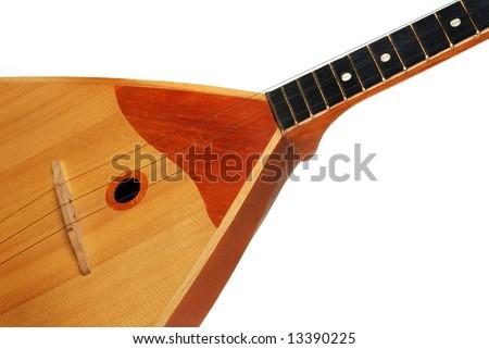 Balalaika, traditional russian guitar