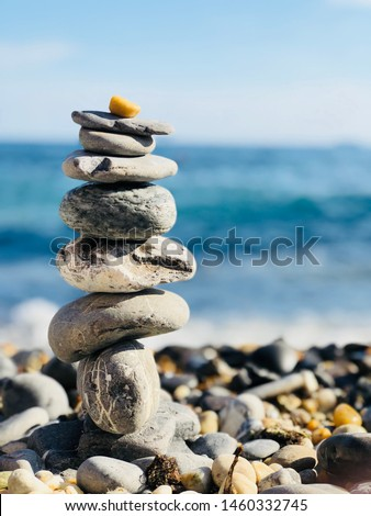 Balance and harmony with the stones