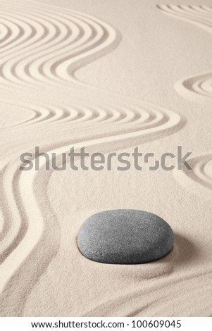 balance harmony zen meditation concept japanese garden simplicity purity and spirituality in pattern of sand and stones