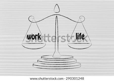 balance measuring your work-life balance: private life & career