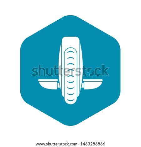 Balance vehicle icon. Simple illustration of balance vehicle icon for web