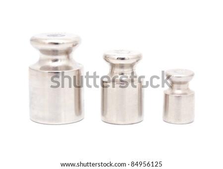 Balance weights isolated