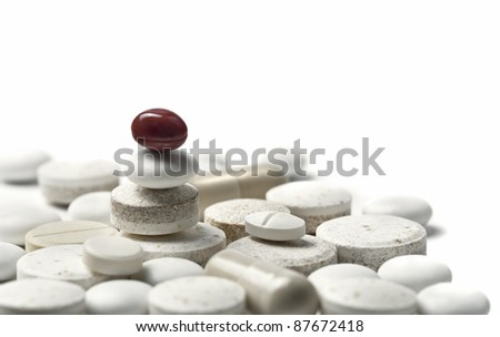balanced pills metaphor of proper treatment