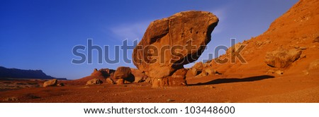 Balanced Rock, Marble Canyon, Arizona