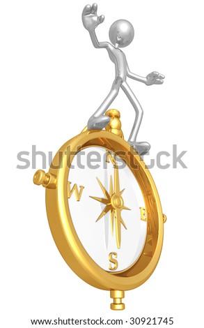 Balancing On Golden Compass