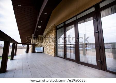 balcony balcony of the house #761950033