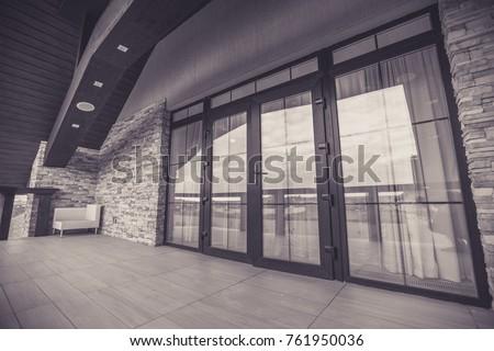 balcony balcony of the house #761950036