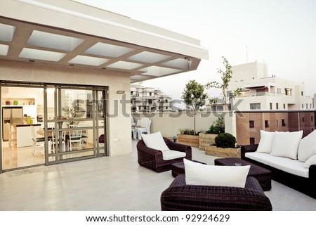 Balcony Interior Design #92924629