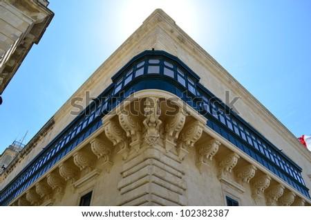 Balcony of the Grandmaster Palace - Valletta