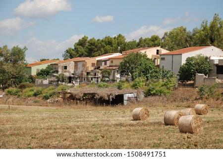 Bales of fodder for livestock #1508491751