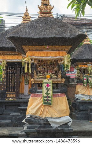 bali home temple offerings to the gods