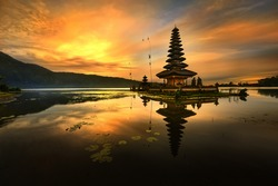 Bali Pura Ulun Danu Bratan Water Temple