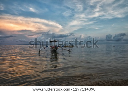 Bali - Seascapes beaches and boats #1297114390