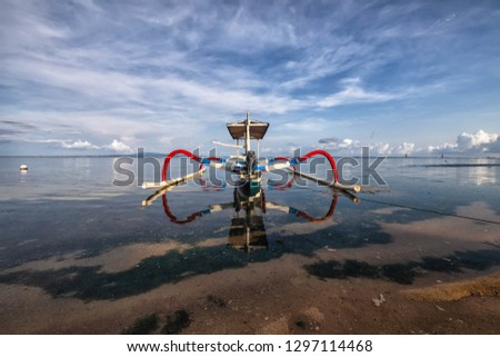 Bali - Seascapes beaches and boats #1297114468