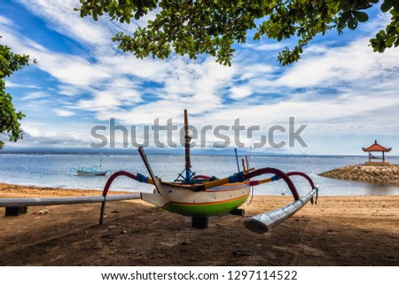 Bali - Seascapes beaches and boats #1297114522