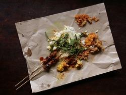 Balinese Street Food Nasi campur