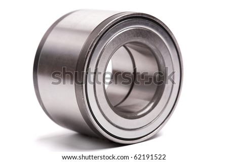 ball bearing isolated on white background