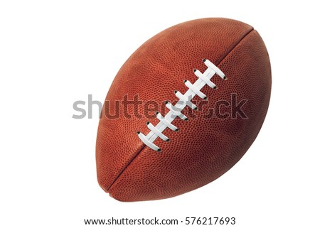 ball for game in Rugby isolated on white background #576217693
