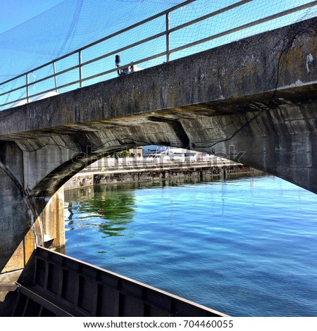 Ballard Locks, Seattle, Washington #704460055