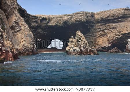 Ballestas islands, Main tourism place in Peru