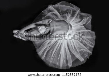 Ballet Dancer female #1152559172