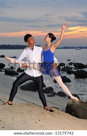 ballet in the outdoors